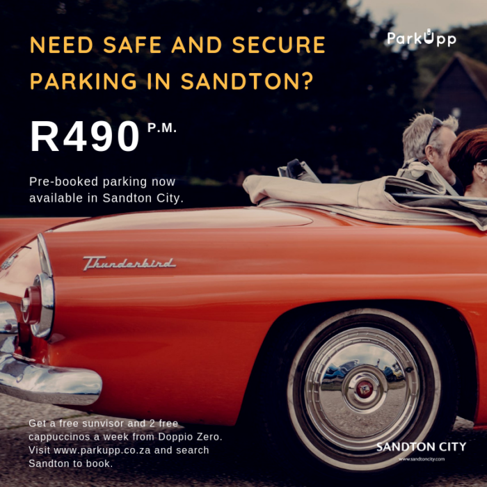 Need Safe and Secure Parking in Sandton?